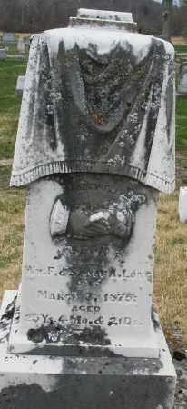 LONG, JOSEPH - Montgomery County, Ohio | JOSEPH LONG - Ohio Gravestone Photos