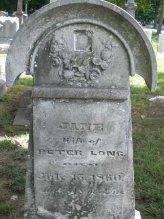 LONG, JANE - Montgomery County, Ohio | JANE LONG - Ohio Gravestone Photos
