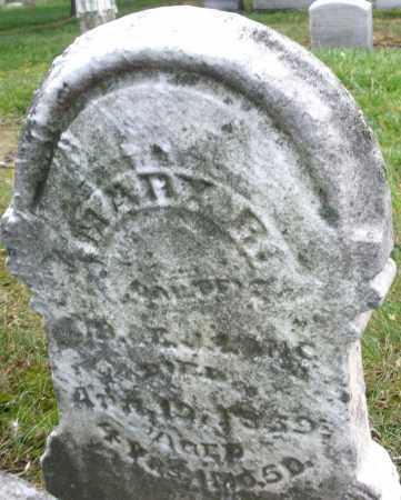 LONG, MARY R. - Montgomery County, Ohio | MARY R. LONG - Ohio Gravestone Photos