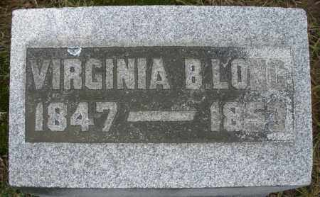 LONG, VIRGINIA B. - Montgomery County, Ohio | VIRGINIA B. LONG - Ohio Gravestone Photos