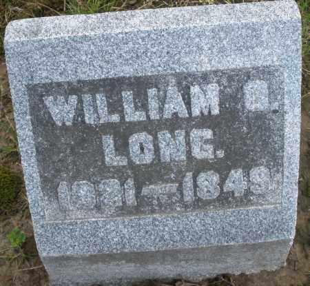 LONG, WILLIAM - Montgomery County, Ohio | WILLIAM LONG - Ohio Gravestone Photos