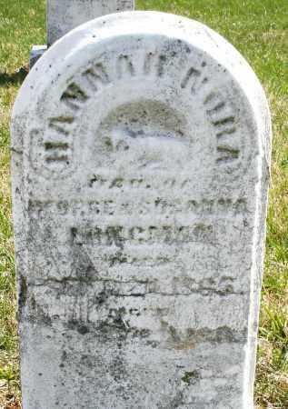 LONGMAN, HANNAH NORA - Montgomery County, Ohio | HANNAH NORA LONGMAN - Ohio Gravestone Photos