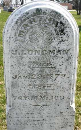 LONGMAN, MARTHA M. - Montgomery County, Ohio | MARTHA M. LONGMAN - Ohio Gravestone Photos