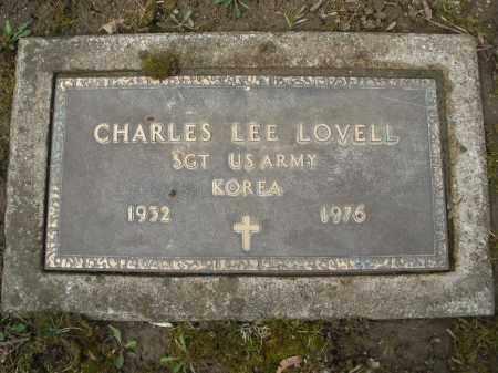 LOVELL, CHARLES LEE - Montgomery County, Ohio   CHARLES LEE LOVELL - Ohio Gravestone Photos