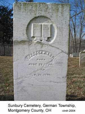 LOY, GEORGE - Montgomery County, Ohio | GEORGE LOY - Ohio Gravestone Photos