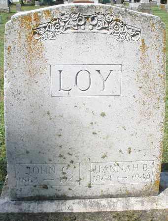 LOY, JOHN C. - Montgomery County, Ohio | JOHN C. LOY - Ohio Gravestone Photos