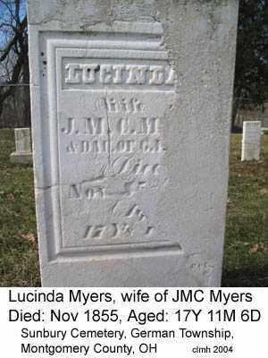 LOY, LUCINDA - Montgomery County, Ohio | LUCINDA LOY - Ohio Gravestone Photos