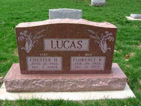 LUCAS, CHESTER HUGH - Montgomery County, Ohio | CHESTER HUGH LUCAS - Ohio Gravestone Photos
