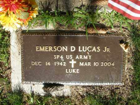 LUCAS, EMERSON D. - Montgomery County, Ohio | EMERSON D. LUCAS - Ohio Gravestone Photos