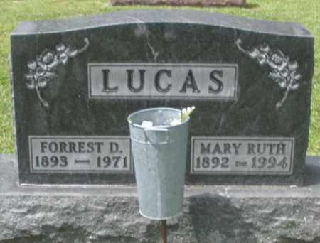 LUCAS, FORREST D. - Montgomery County, Ohio | FORREST D. LUCAS - Ohio Gravestone Photos