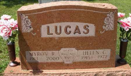 LUCAS, MYRON R. - Montgomery County, Ohio   MYRON R. LUCAS - Ohio Gravestone Photos