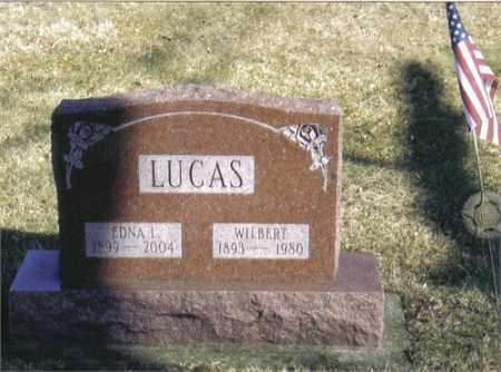MCCULLOUGH LUCAS, EDNA LUCILLE - Montgomery County, Ohio | EDNA LUCILLE MCCULLOUGH LUCAS - Ohio Gravestone Photos
