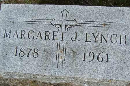 LYNCH, MARGARET J. - Montgomery County, Ohio | MARGARET J. LYNCH - Ohio Gravestone Photos
