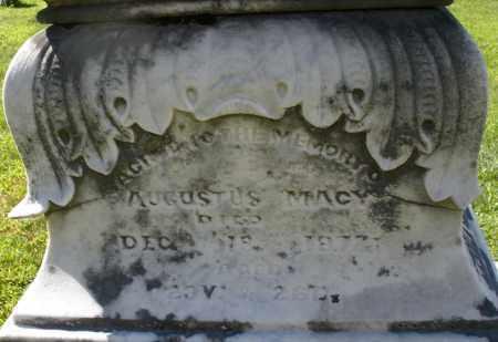 MACY, AUGUSTUS - Montgomery County, Ohio   AUGUSTUS MACY - Ohio Gravestone Photos