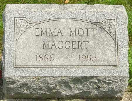 MOTT MAGGERT, EMMA CATHERINE - Montgomery County, Ohio   EMMA CATHERINE MOTT MAGGERT - Ohio Gravestone Photos
