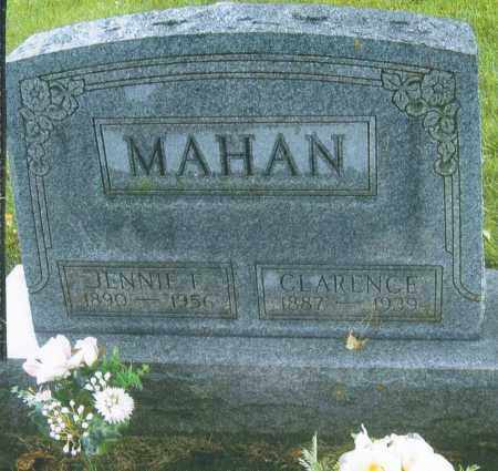 RABOLD MAHAN, JENNIE FRANCES - Montgomery County, Ohio | JENNIE FRANCES RABOLD MAHAN - Ohio Gravestone Photos