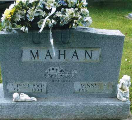 WEIDLE MAHAN, MINNIE ELIZABETH - Montgomery County, Ohio   MINNIE ELIZABETH WEIDLE MAHAN - Ohio Gravestone Photos