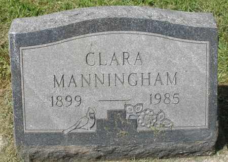 MANNINGHAM, CLARA - Montgomery County, Ohio | CLARA MANNINGHAM - Ohio Gravestone Photos
