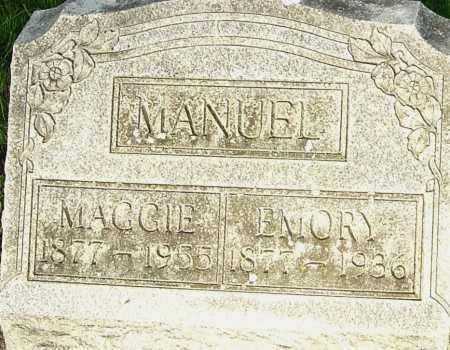 "MANUEL, MARGARET ""MAGGIE"" - Montgomery County, Ohio | MARGARET ""MAGGIE"" MANUEL - Ohio Gravestone Photos"