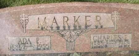 MARKER, ADA P. - Montgomery County, Ohio | ADA P. MARKER - Ohio Gravestone Photos