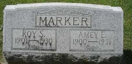 MARKER, AMEY E. - Montgomery County, Ohio | AMEY E. MARKER - Ohio Gravestone Photos