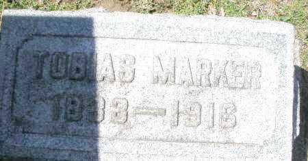 MARKER, TOBIAS - Montgomery County, Ohio   TOBIAS MARKER - Ohio Gravestone Photos