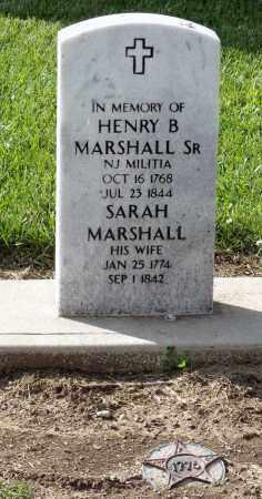 MARSHALL, SARAH - Montgomery County, Ohio | SARAH MARSHALL - Ohio Gravestone Photos