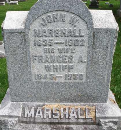 MARSHALL, FRANCES A. - Montgomery County, Ohio | FRANCES A. MARSHALL - Ohio Gravestone Photos