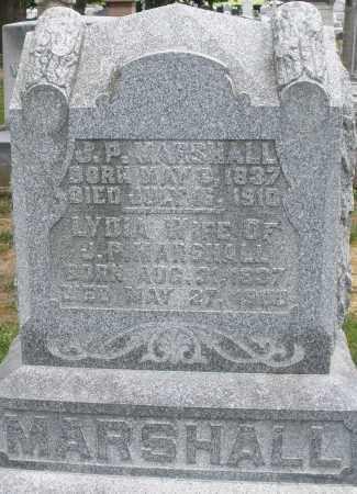 MARSHALL, J.P. - Montgomery County, Ohio   J.P. MARSHALL - Ohio Gravestone Photos