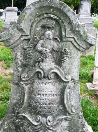 MARSHALL, MARY - Montgomery County, Ohio | MARY MARSHALL - Ohio Gravestone Photos