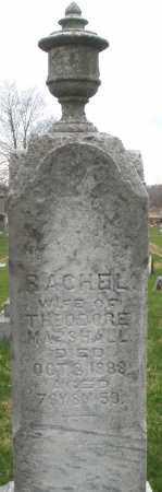 MARSHALL, RACHEL - Montgomery County, Ohio | RACHEL MARSHALL - Ohio Gravestone Photos