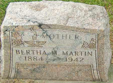 MARTIN, BERTHA MAY - Montgomery County, Ohio | BERTHA MAY MARTIN - Ohio Gravestone Photos