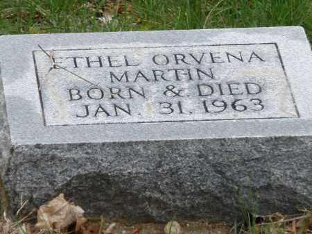 MARTIN, ETHEL ORVENA - Montgomery County, Ohio   ETHEL ORVENA MARTIN - Ohio Gravestone Photos