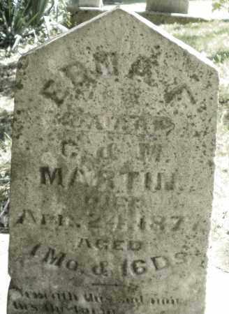 MARTIN, ERMA - Montgomery County, Ohio   ERMA MARTIN - Ohio Gravestone Photos