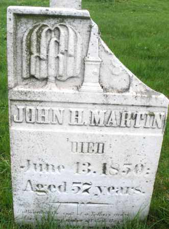 MARTIN, JOHN H. - Montgomery County, Ohio   JOHN H. MARTIN - Ohio Gravestone Photos