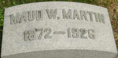 WATKINS MARTIN, MAUD W - Montgomery County, Ohio | MAUD W WATKINS MARTIN - Ohio Gravestone Photos