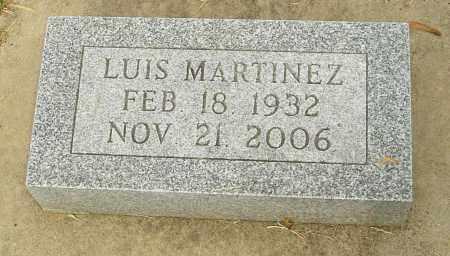 MARTINEZ, LUIS - Montgomery County, Ohio | LUIS MARTINEZ - Ohio Gravestone Photos