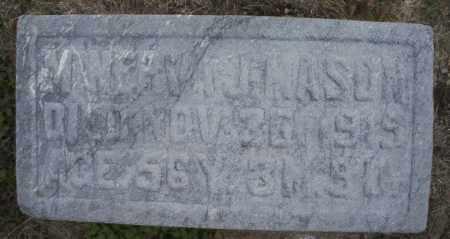MASON, MINERVA J. - Montgomery County, Ohio | MINERVA J. MASON - Ohio Gravestone Photos