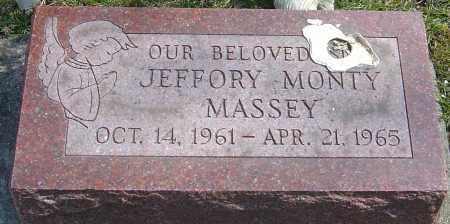 MASSEY, JEFFORY MONTY - Montgomery County, Ohio | JEFFORY MONTY MASSEY - Ohio Gravestone Photos