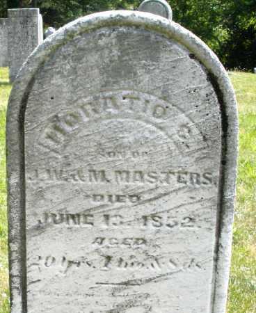 MASTERS, HORATIO - Montgomery County, Ohio   HORATIO MASTERS - Ohio Gravestone Photos