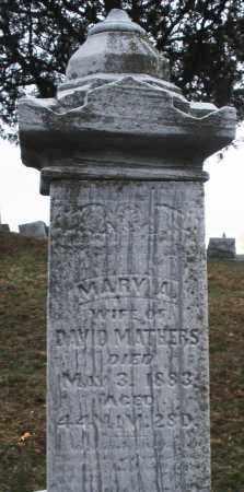 MATHERS, MARY - Montgomery County, Ohio   MARY MATHERS - Ohio Gravestone Photos