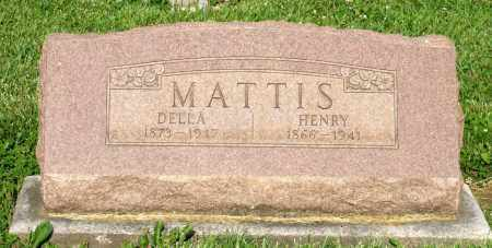 MATTIS, HENRY - Montgomery County, Ohio | HENRY MATTIS - Ohio Gravestone Photos