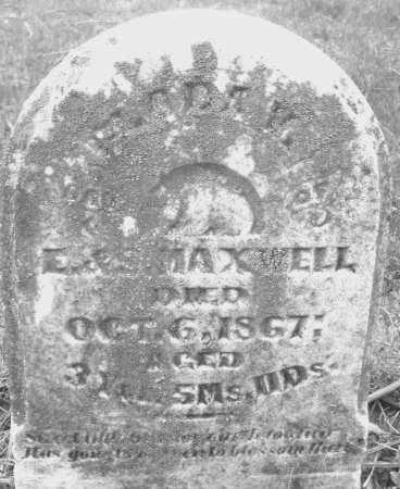 MAXWELL, ADAM - Montgomery County, Ohio | ADAM MAXWELL - Ohio Gravestone Photos