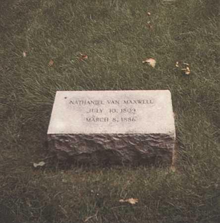 MAXWELL, NATHANIEL VAN - Montgomery County, Ohio | NATHANIEL VAN MAXWELL - Ohio Gravestone Photos