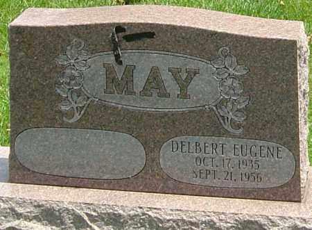 MAY, DELBERT EUGENE - Montgomery County, Ohio | DELBERT EUGENE MAY - Ohio Gravestone Photos