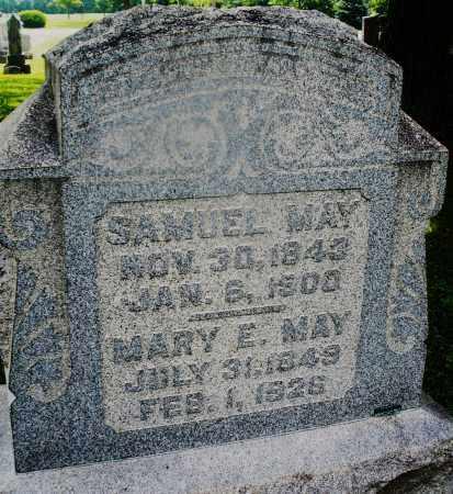 MAY, MARY E. - Montgomery County, Ohio | MARY E. MAY - Ohio Gravestone Photos