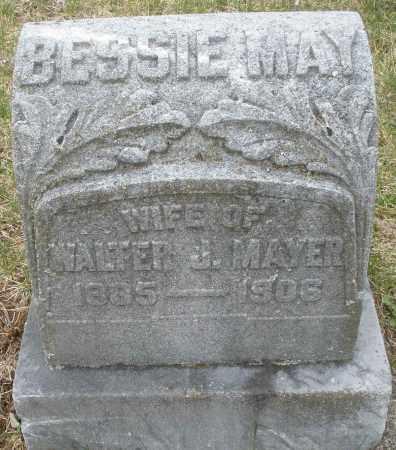 MAYER, BESSIE MAY - Montgomery County, Ohio | BESSIE MAY MAYER - Ohio Gravestone Photos