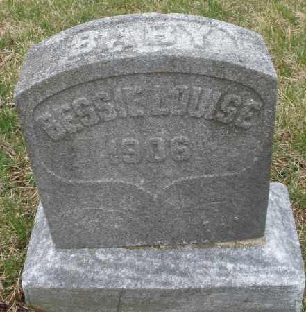 MAYER, BESSIE LOUISE - Montgomery County, Ohio   BESSIE LOUISE MAYER - Ohio Gravestone Photos