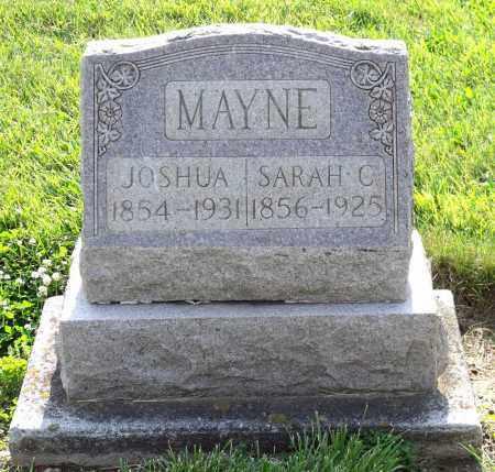 MAYNE, SARAH C. - Montgomery County, Ohio | SARAH C. MAYNE - Ohio Gravestone Photos