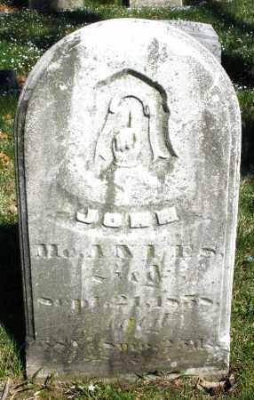 MCANLES, JOHN - Montgomery County, Ohio | JOHN MCANLES - Ohio Gravestone Photos